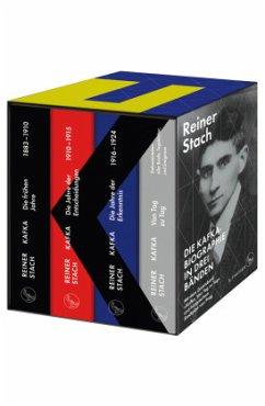 Die Kafka-Biographie in drei Bänden - Stach, Reiner