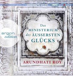 Das Ministerium des äußersten Glücks, 3 MP3-CD - Roy, Arundhati