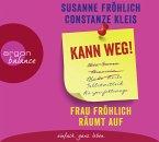 Kann weg! Frau Fröhlich räumt auf, 3 Audio-CD