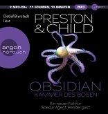 Obsidian - Kammer des Bösen / Pendergast Bd.16 (2 MP3-CDs)