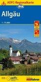 ADFC-Regionalkarte Allgäu