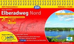ADFC-Radreiseführer Elberadweg Nord - Steinbicker, Otmar