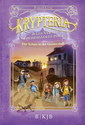 Buch-Reihe Krypteria - Jules Vernes geheimnisvolle Insel