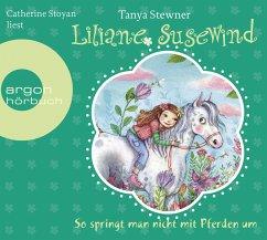 So springt man nicht mit Pferden um / Liliane Susewind Bd.5 (2 Audio-CDs) - Stewner, Tanya
