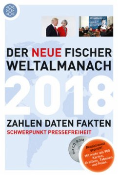 Der neue Fischer Weltalmanach 2018 mit CD-ROM