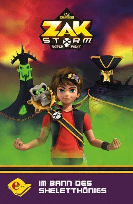 Buch-Reihe Zak Storm