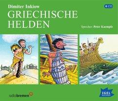 Griechische Helden, 6 Audio-CDs - Inkiow, Dimiter