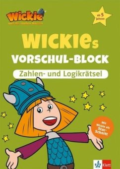 Wickies Vorschul-Block Zahlen- und Logikrätsel
