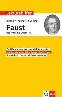 Lektürehilfen Johann Wolfgang von Goethe