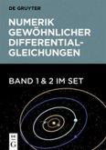 Numerik gewöhnlicher Differentialgleichungen. Set Band 1+2