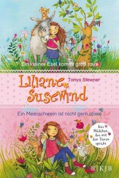 Ein kleiner Esel kommt groß raus & Ein Meerschwein ist nicht gern allein / Liliane Susewind ab 6 Jahre Bd.1+2 - Stewner, Tanya