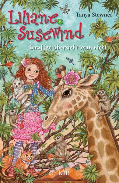Buch-Reihe Liliane Susewind von Tanya Stewner