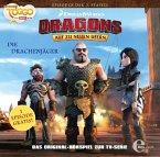 Dragons - Auf zu neuen Ufern - Drachenjäger, 1 Audio-CD