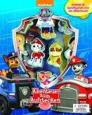 Paw Patrol, Spielbuch + 10 Figuren zum Aufstecken
