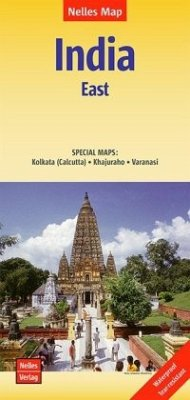 Nelles Map Landkarte India: East