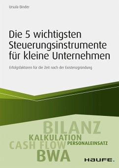 Die 5 wichtigsten Steuerungsinstrumente für kleine Unternehmen (eBook, ePUB) - Binder, Ursula