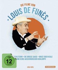 Louis de Funès Edition (4 Discs) - De Funes,Louis/Bourvil