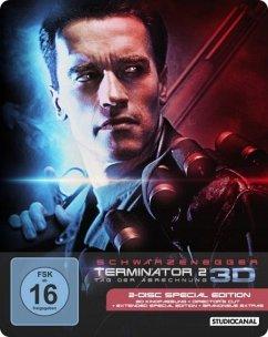 Terminator 2 - Tag der Abrechnung (Blu-ray 3D, Steelbook, 2 Discs)