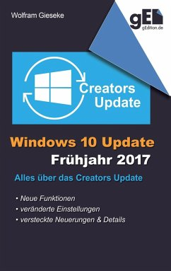 Windows 10 Update - Frühjahr 2017 - Gieseke, Wolfram