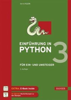 Einführung in Python 3, m. 1 Buch, m. 1 E-Book - Klein, Bernd