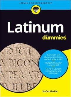 Latinum für Dummies - Merkle, Stefan