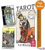 Premium Tarot von A.E. Waite, Tarotkarten (Standard)