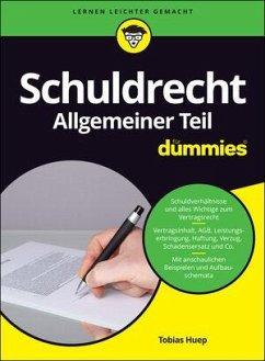Schuldrecht Allgemeiner Teil für Dummies - Huep, Tobias