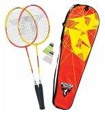 Talbot Torro 449503 - Badminton Set Premium, 2-Fighter Alu im Thermobag