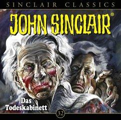 Das Todeskabinett / John Sinclair Classics Bd.32 (1 Audio-CD)