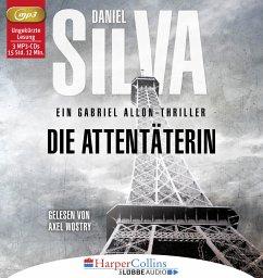 Die Attentäterin / Gabriel Allon Bd.16 (6 Audio-CDs) - Silva, Daniel