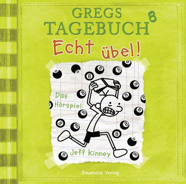 Echt übel! / Gregs Tagebuch Bd.8 (CD) - Kinney, Jeff
