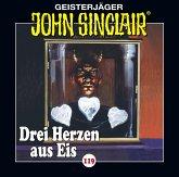 Drei Herzen aus Eis / Geisterjäger John Sinclair Bd.119 (Audio-CD)