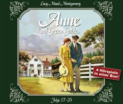 Anne auf Green Gables, 4 Audio-CDs - Montgomery, Lucy Maud