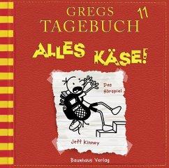 Alles Käse! / Gregs Tagebuch Bd.11 (CD) - Kinney, Jeff
