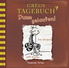 Dumm gelaufen! / Gregs Tagebuch Bd.7 (CD) - Kinney, Jeff