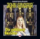 Die goldenen Skelette / Geisterjäger John Sinclair Bd.120 (1 Audio-CD)