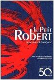 Le Petit Robert de la langue francaise - jaquette bleue