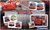 Edu Kit 4 in 1, Cars 3 (Kinderspiel)
