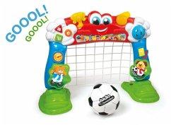 Interaktives Fußballtor
