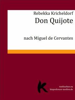 Don Quijote (eBook, ePUB) - Kricheldorf, Rebekka