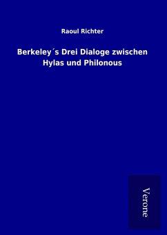 Berkeley´s Drei Dialoge zwischen Hylas und Philonous