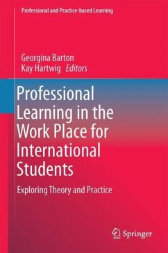 Professional Learning in the Work Place for International Students