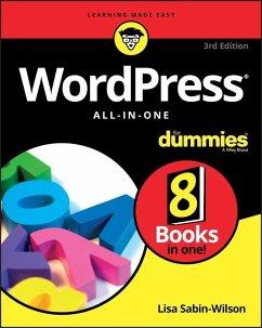 WordPress All-in-One For Dummies (eBook, ePUB) - Sabin-Wilson, Lisa