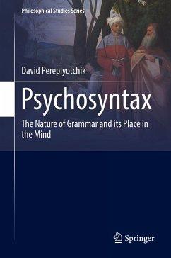 Psychosyntax - Pereplyotchik, David