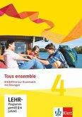 Tous ensemble. Ausgabe ab 2013 - Erklärfilme zur Grammatik mit Übungen. Bd.4, 1 CD-ROM