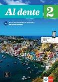 Al dente A2. Deutsche Ausgabe. Kurs- und Übungsbuch + Audio-CD + DVD