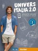 UniversItalia 2.0 B1/B2. Corso di italiano - vollständige Neubearbeitung. Kurs- und Arbeitsbuch mit 2 Audio-CDs