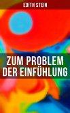 Zum Problem der Einfühlung (eBook, ePUB)