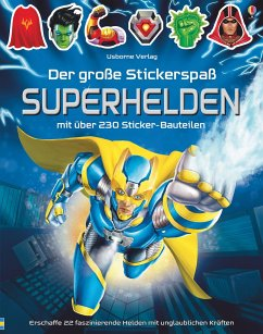 Der große Stickerspaß: Superhelden - Tudhope, Simon