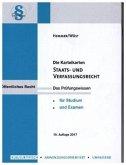Staats- und Verfassungsrecht. 130 Karteikarten
